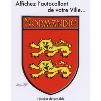 Stickers Blason Normandie