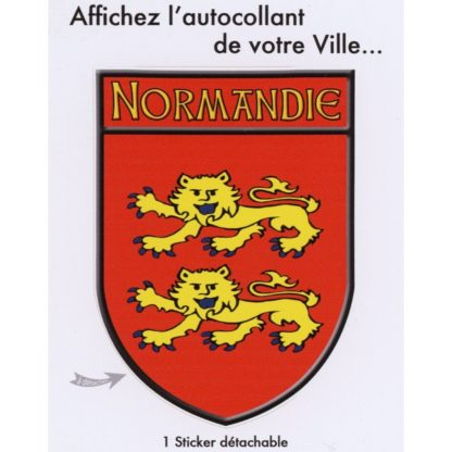 Stickers Blason Normandie