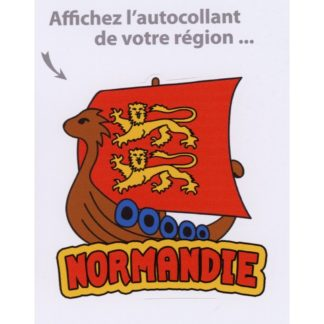 Stickers Drakkar Normandie