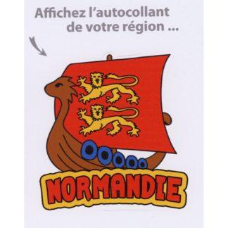 Stickers Drakkar Normandie