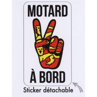 Stickers Motard à Bord